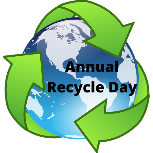 Annual Recycle Day logo