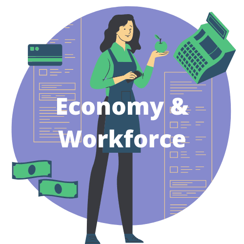 Economy and Workforce logo