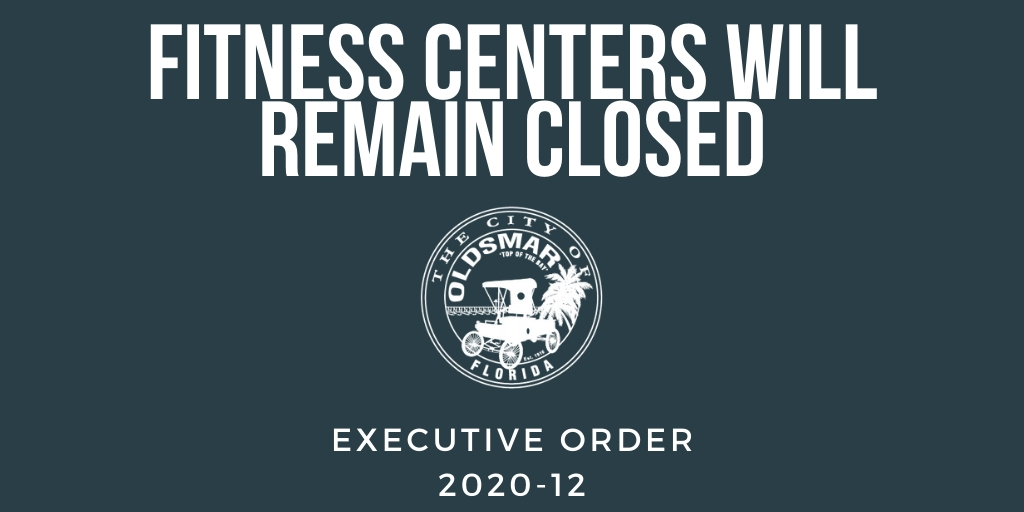 Executive Order 2020-12 Fitness Centers Will Remain Closed