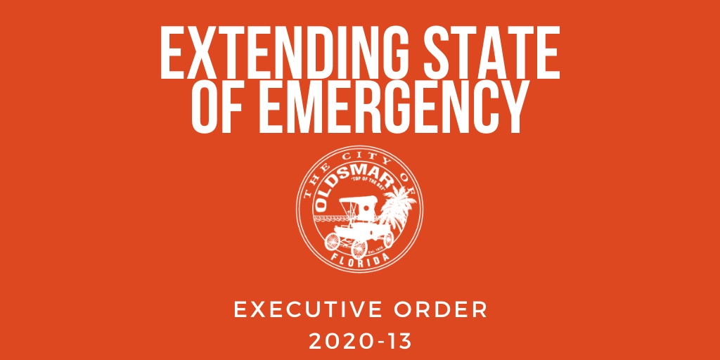 Executive Order 2020-13 Extending State of Emergency