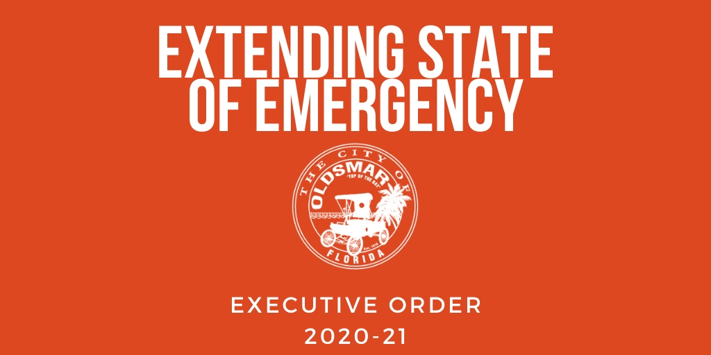 executive order 2020-21 extending state of emergency