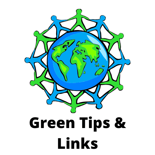 Green tips and links button