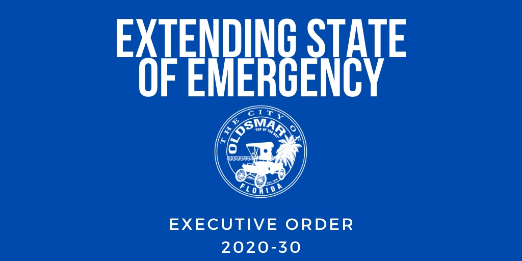 EXECUTIVE ORDER 2020-30 EXTENDING STATE OF EMERGENCY
