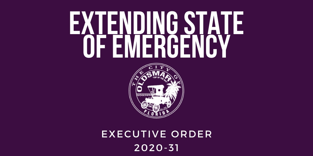 EXECUTIVE ORDER 2020-31 extending state of emergency
