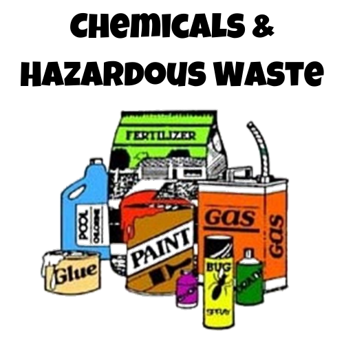 Chemical and hazardous waste disposal link