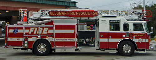 Oldsmar Fire Rescue T54