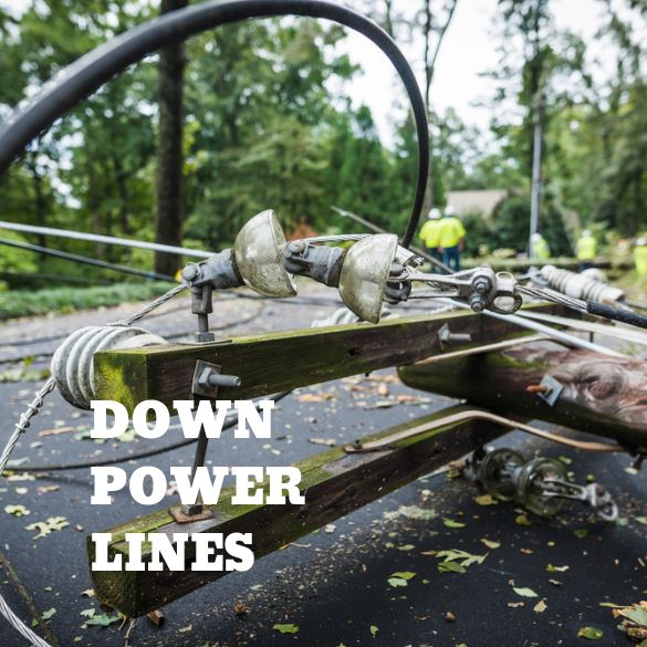 Down Power Lines Image