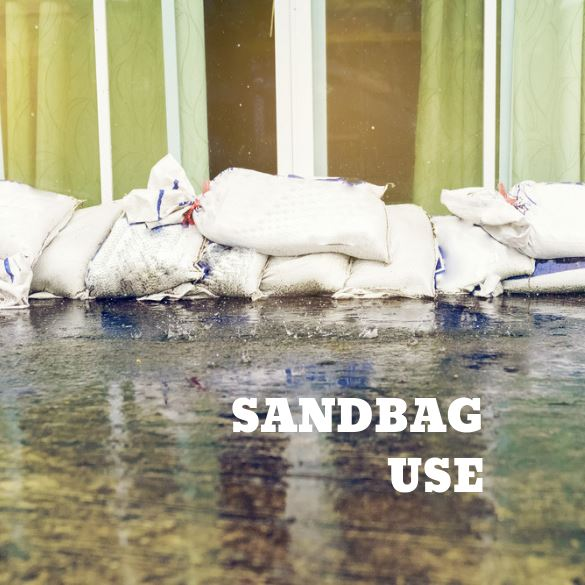 Sandbag Use Image