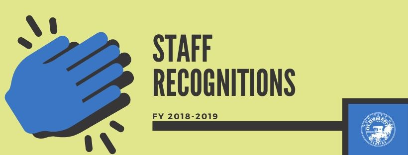 STAFF RECOGNITIONS