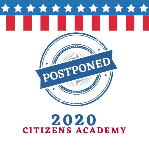 2020 Citizens Academy postponed