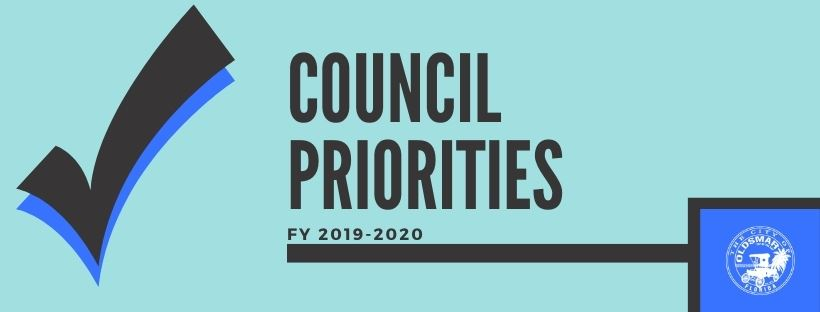 Council Priorities FY 2019-2020