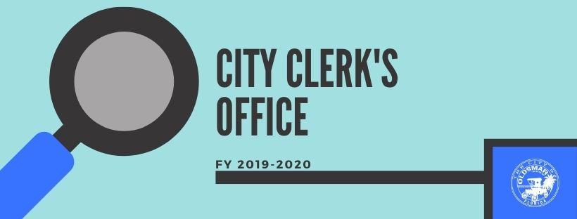 City Clerk's Office Fiscal Year 2019-2020