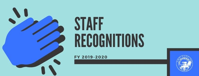 Staff Recognitions Fiscal Year 2019-2020