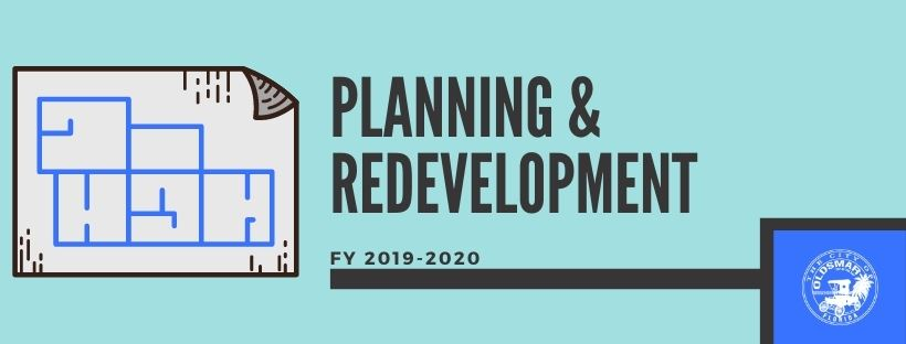 Planning & Redevelopment Fiscal Year 2019-2020