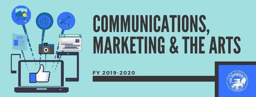 Communications, Marketing & The Arts Fiscal Year 2019-2020