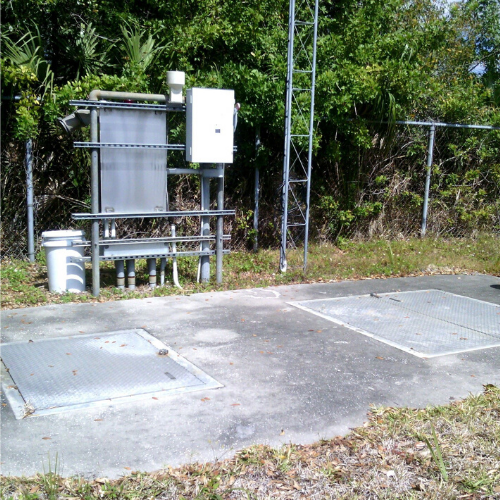 Lift station in Oldsmar